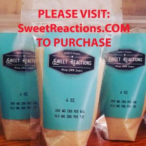 Sweet Reactions CBD Sugar