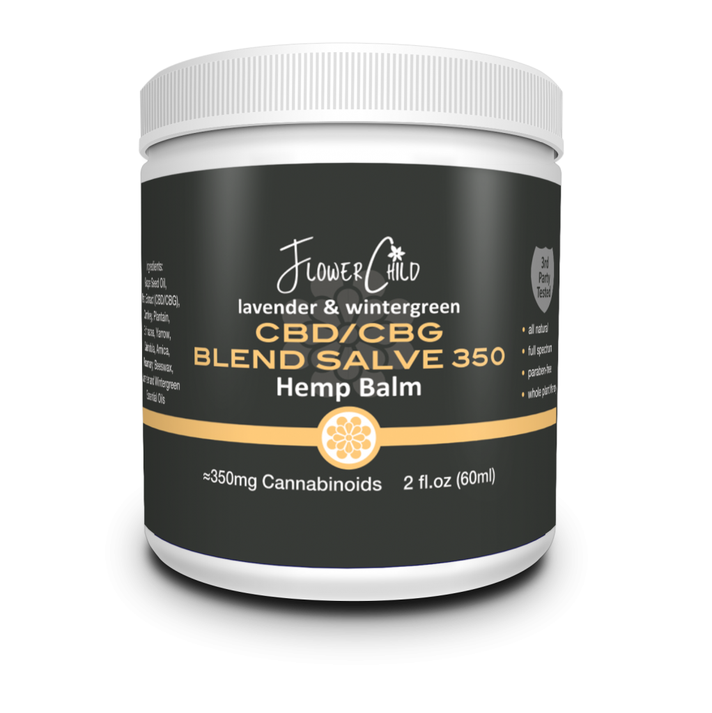 CBD CBG Salve 350 mg