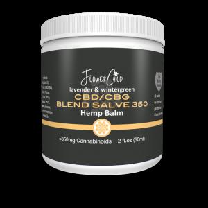 CBD CBG Salve 350 mg