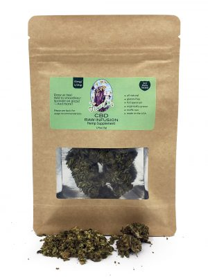 Raw CBD Flower Buds FlowerChild