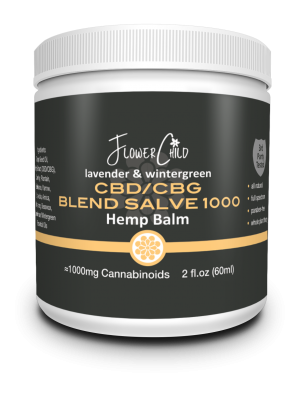 CBD CBG Salve 1000mg