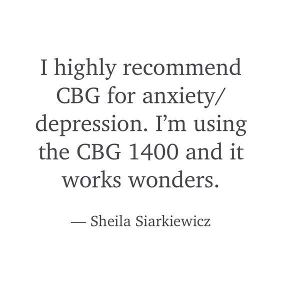 CBG for depression